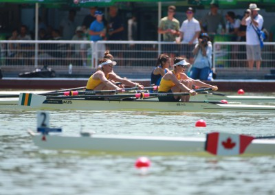 Amy James and Holly Lawrence in the BLW2x