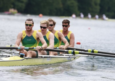 Mens Four - Copyright Rowing Australia