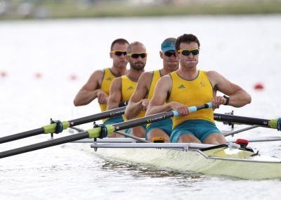 2012 LONDON OLYMPIC ROWING REGATA